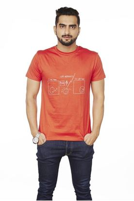 Picture of SENTIDO Like Minded Red T-shirt