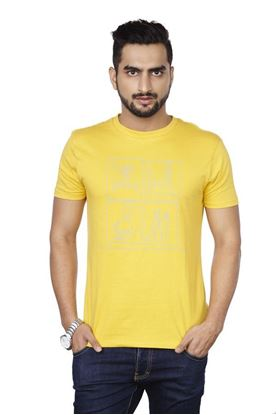 Picture of SENTIDO yellow T-shirt