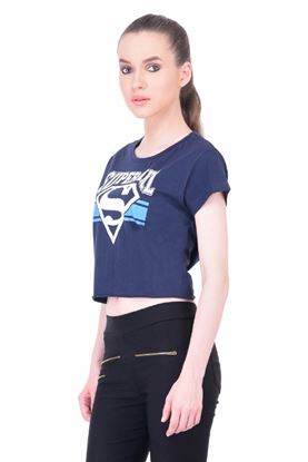 Picture of The Dry State Women's Half Sleeves Cotton Crop Top(CT05160023-$P_NB)