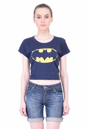 Picture of The Dry State Women's Half Sleeves Cotton Crop Top(CT05160026-$P_NB)
