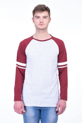 Picture of The Dry State Men's Cotton Full Sleeve Henley T-Shirt(FS05161005-$P_White)