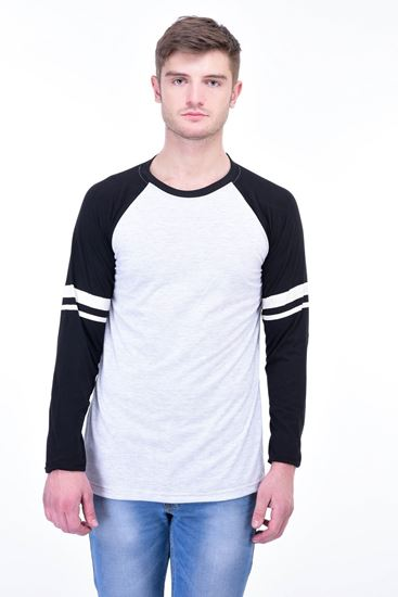 Picture of The Dry State Men's Cotton Full Sleeve Henley T-Shirt(FS05161006-$P_White)