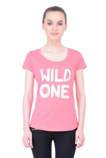 Picture of The Dry State Women's Half Sleeve Cotton Top(HS05160001-$P_Pink)