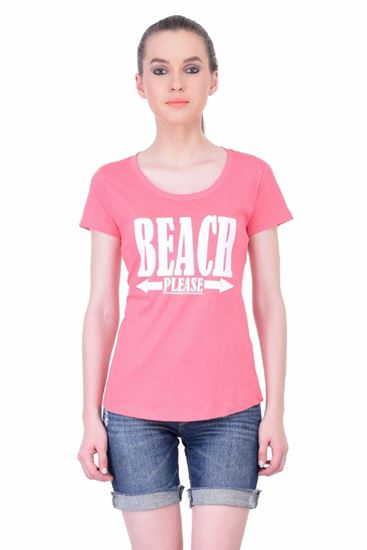 Picture of The Dry State Women's Half Sleeve Cotton Top(HS05160004-$P_Pink)