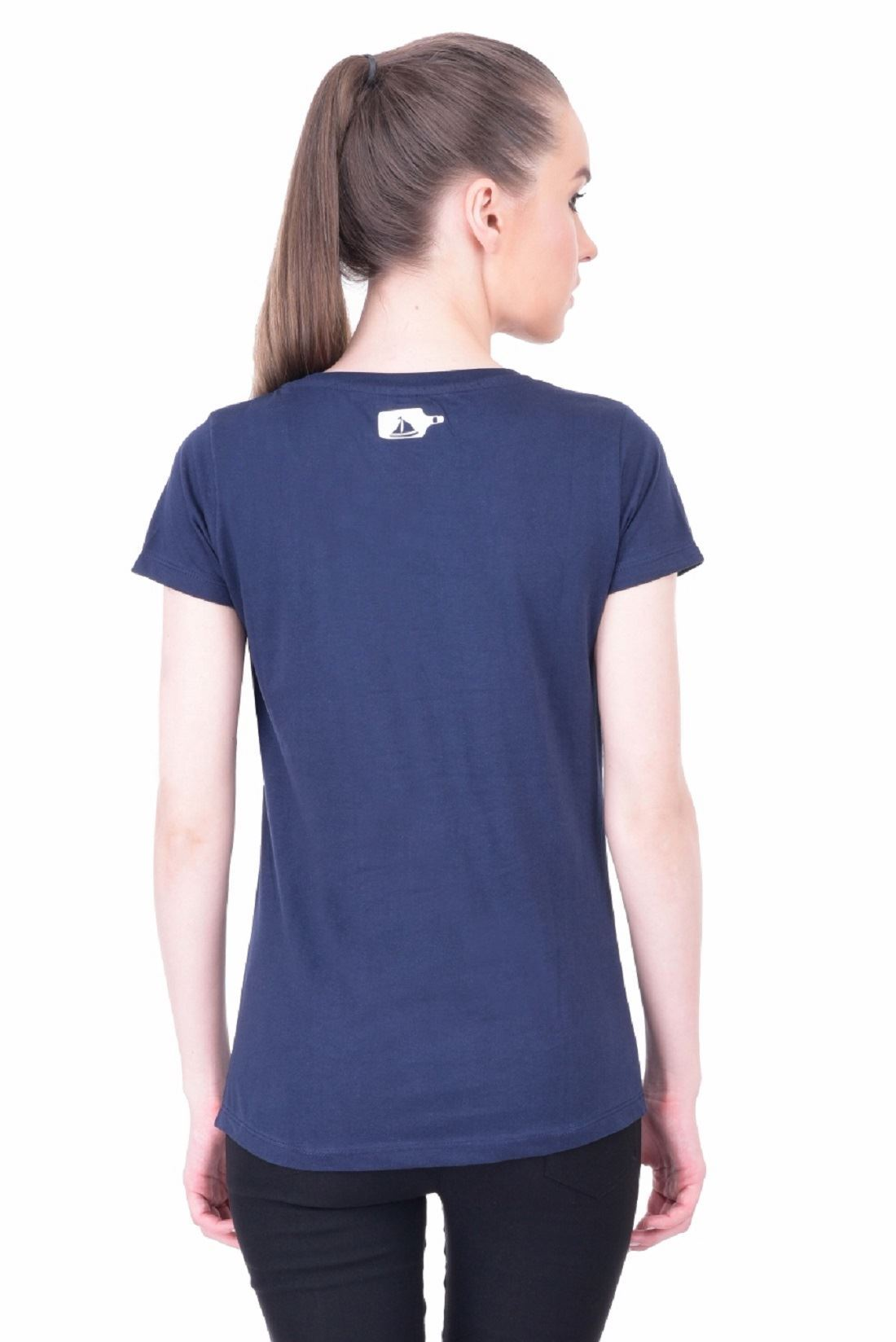 b88e625761ee ... Picture of The Dry State Women's Half Sleeve Cotton T-Shirt(HS05160025-$  ...
