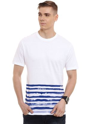 Picture of IOBE-Cotton Round Neck Half Sleeve-CSMHS-RN0002$White